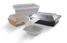 Containers, Trays