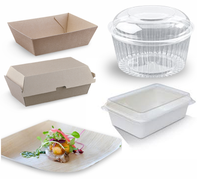 4 eco-friendly takeaway food packaging options