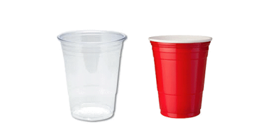 Disposable Plastic Cups for Takeaway
