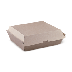 Pizza (163x163x47) Brown Kraft Box