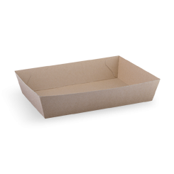 #5 (255x179x59) Brown Kraft Open Tray