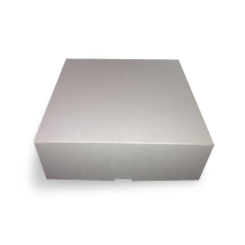 7x7x4 Inch (178x178x102) Easy Fold Corrugated Cake Box