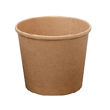 12oz (98Dx70h) Brown Kraft Food Bowl