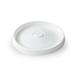 Plastic Lid for 8/12/16oz (110D) White Round Paper Food Container