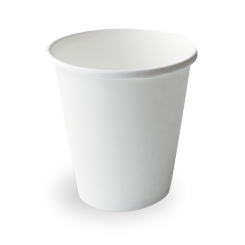 16oz/473ml (110Dx100) White Round Paper Food Container