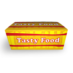 Medium (175x110x70) Tasty Food Snack Box
