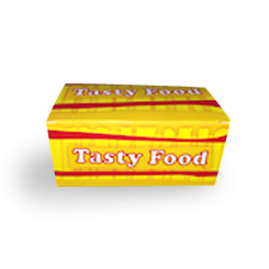 Mini (130x100x60) Tasty Food Snack Box