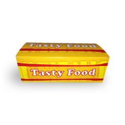 Small (170x100x60) Tasty Food Snack Box