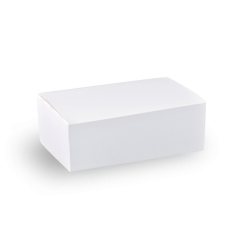 Large (200x115x70) Plain White Snack Box