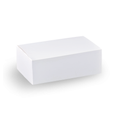 Small (172x103x57) Plain White Snack Box