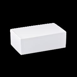 Medium (172x103x70) Plain White Snack Box