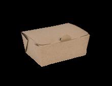 400ml (105x76x49) Brown Kraft Take Away Box