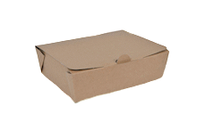 800ml (142x111x49) Brown Kraft Take Away Box