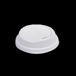 6oz / 8oz White Biodegradable Hot Lid
