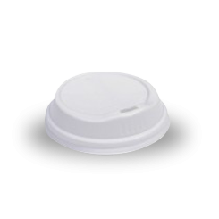 12/16oz White Biodegradable Hot Lid