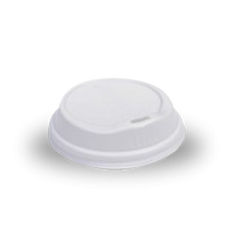 12oz / 16oz White Biodegradable Takeaway Coffee Lid