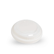 8oz White CPLA Hot Lid