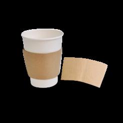 12oz / 16oz Brown Kraft Cup Sleeve