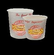 12oz (90Dx95) Tasty Hot Paper Chip Cup
