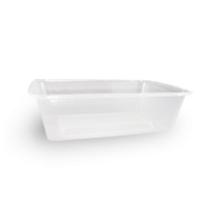 650ml (172x120x50) Clear Rectangular Plastic Container
