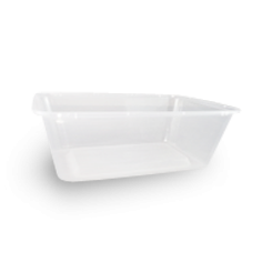 700ml (172x120x55) Clear Rectangular Plastic Container