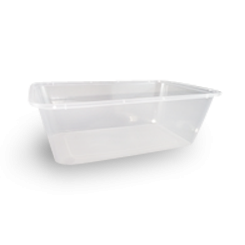 750ml (172x120x58) Clear Rectangular Plastic Container
