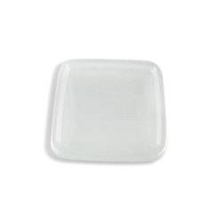 Clear Lid (75x75) for Clear Square PET Food Plastic Container