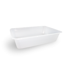 500ml (172x120x39) Freezer Clear Rectangular Plastic Container