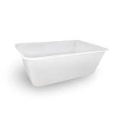 750ml (172x120x58) Freezer Clear Rect Plastic Container