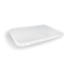 Clear Lid (172x120) for Freezer Clear Rect Plastic Container