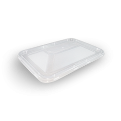 Clear PP Dome Lid (172x120) for Rectangular Plastic Container