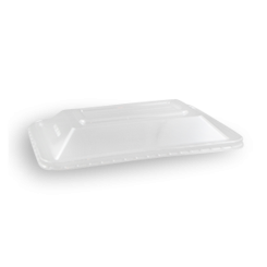 SupaClear PET Dome Lid (172x120) for Rect Plast Container