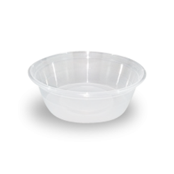 8oz/225ml (119Dx39) Clear Round Plastic Container