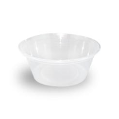 10oz/300ml (119Dx47) Freezer Clear Round Plastic Container