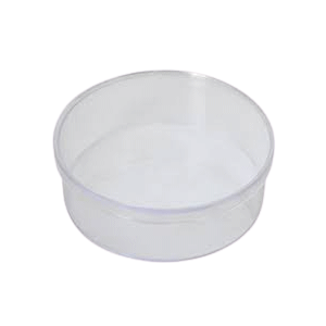 3000ml (240Dx110) Clear Round Plastic Container