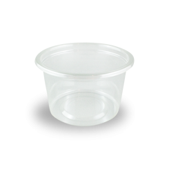 100ml (75Dx45) Clear Round PET Food Plastic Container
