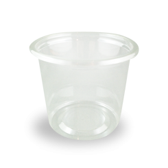 150ml (75Dx60) Clear Round PET Food Plastic Container