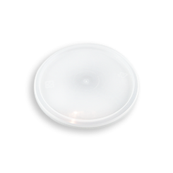 Clear Lid (119D) for Clear Round Plastic Container
