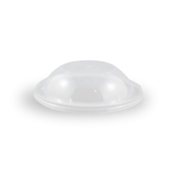 Clear Dome Lid (119D) for Clear Round Plastic Container
