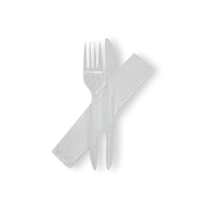 Knife, Fork, Napkin Pack