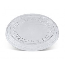 Flat Lid No Hole for 8/12/16oz PET Deli Container