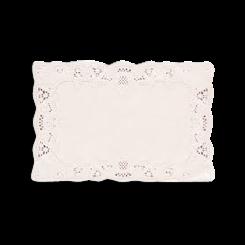 245x362mm Rectangular Paper Lace Doyley