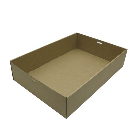 XL (450x310x80) Window Brown Catering Tray - Base
