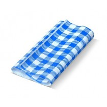 Blue Gingham (190x300m) Greaseproof Paper Sheets