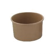 4oz / 118ml (75Dx50) Brown Paper Ice-Cream Cup