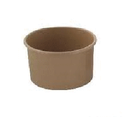 8oz / 237ml (90Dx60) Brown Paper Ice Cream Cup