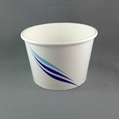 12oz/355ml (100Dx70) Blue-Wave Ice-Cream Cup