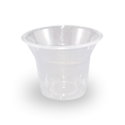 250ml (90D Topx70h) Clear PP Plastic Sundae Cup