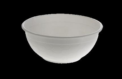 1050ml (175Dx75) White Noodle Bowl