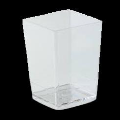 150ml (55x55x80) Square Styrene Dessert Cup